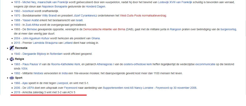 verslag wikipedia